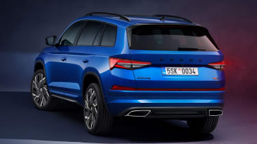Skoda Kodiaq vRS facelift - rear