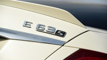 Mercedes-AMG E 63 S - rear badge