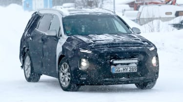 2019 Hyundai Santa Fe - front