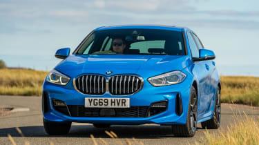 BMW 118i - front cornering