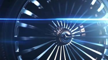 Mercedes concept teaser screengrab wheel