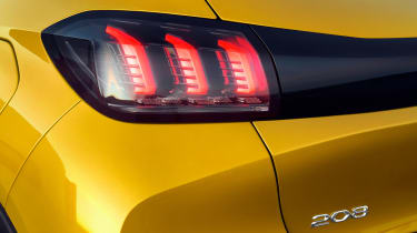 Peugeot 208 - rear light