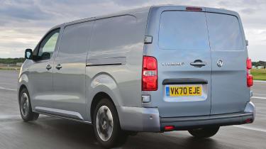 Vauxhall Vivaro-e - rear