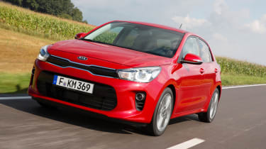 New Kia Rio - official front tracking