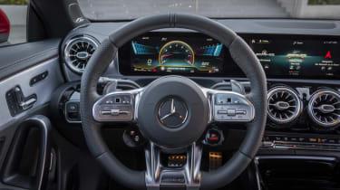 Mercedes-AMG CLA 45 S - interior