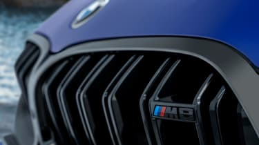 BMW M8 Competition - front M8 badge