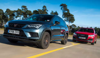 Cupra Ateca vs Audi SQ2 - header