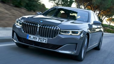 BMW 750i - front action