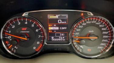 Subaru WRX STI - dials