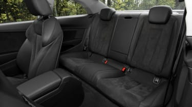 Audi A5 Coupe - rear seats