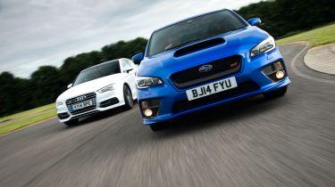 Subaru WRX STi vs Audi S3 Saloon