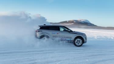 Range Rover Evoque prototype - side