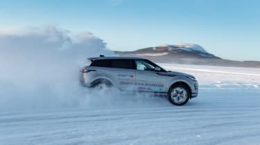 Range Rover Evoque prototype - side
