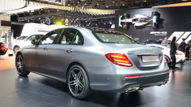 Mercedes E-Class - show rear quarter