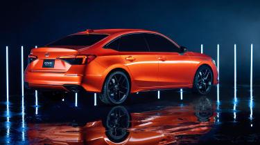 Honda Civic 2021 - rear
