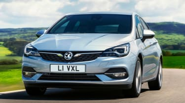Vauxhall Astra - front tracking
