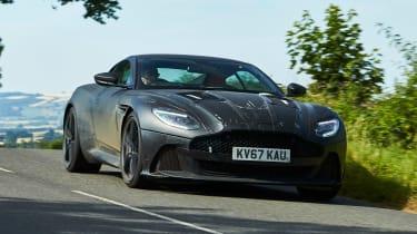 Aston Martin DBS Superleggera prototype - front cornering