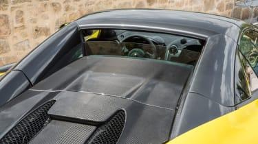 Mclaren 570s review - rear windscreen