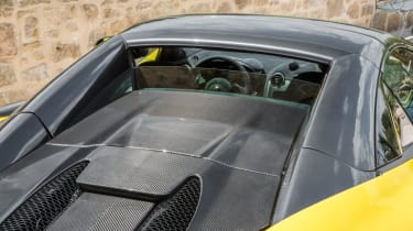 Mclaren 570s review - rear windscreen