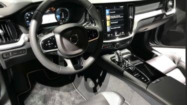 New Volvo S60 steering wheel