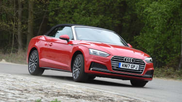 Audi A5 Cabriolet - front action