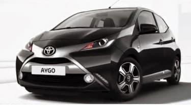 New Toyota Aygo black