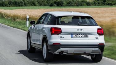 Audi Q2 1.0 TFSI - rear tracking