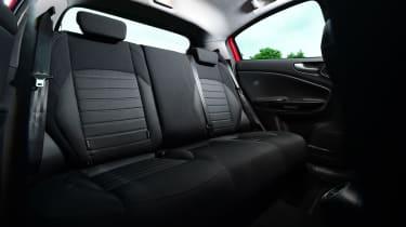 Alfa Romeo Giulietta 2016 facelifted - rear seats