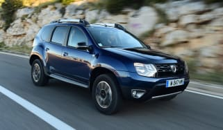 Dacia Duster facelift - front
