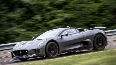 Jaguar C-X75 side