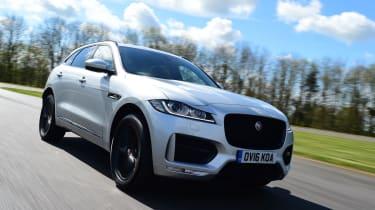 Jaguar F-Pace 2.0d R-Sport tracking