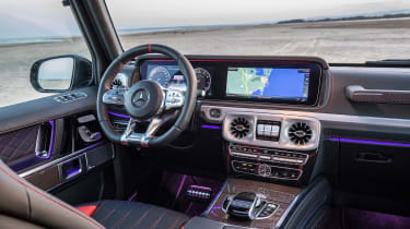 Mercedes-AMG G 63 - interior