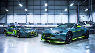 Aston Martin Vantage GT8 - twin front