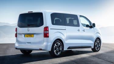 Vauxhall Vivaro Life - rear