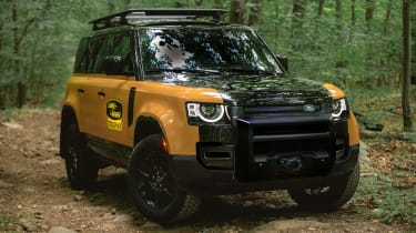 Land Rover unveils limited-run Defender Trophy Edition - front