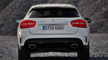 Mercedes GLA 250 SE - rear
