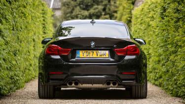 BMW M4 2017 facelift rear