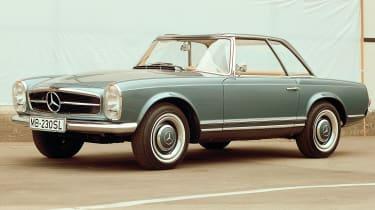 Mercedes SL - side profile
