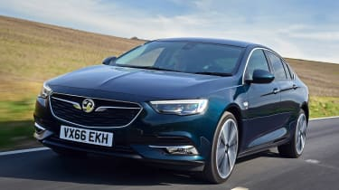Vauxhall Insignia Grand Sport - front