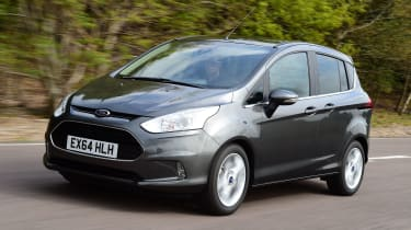 Ford B-MAX - front tracking
