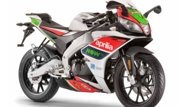 Aprilia RS 125 review - green and red