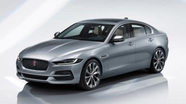 Jaguar XE - studio front grey