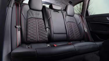 Audi RS 6 - back seats