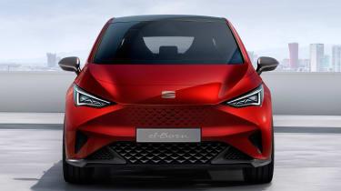SEAT el-Born concept - full front