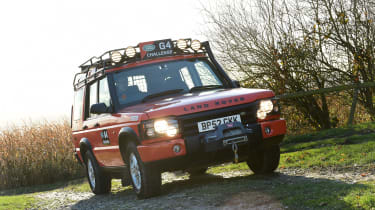 Land Rover Discovery Mk2 - front