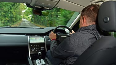 Land Rover Discovery Sport D180 first report - driving