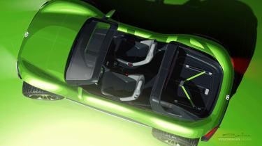 Volkswagen ID. Buggy concept - above