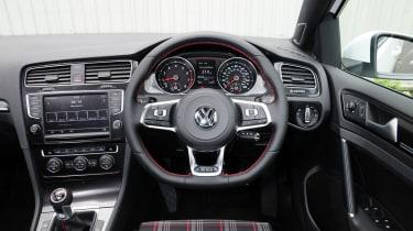 Volkswagen Golf GTI interior