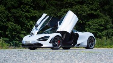 McLaren 720S - front static doors open