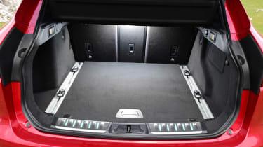 Jaguar F-Pace first drive - boot